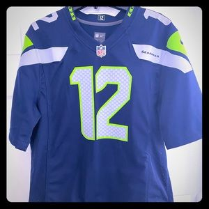 NFL Seahawks (12th Man) Fans Official FB Jersey